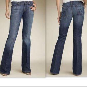 Citizens of Humanity low waste flare Jeans